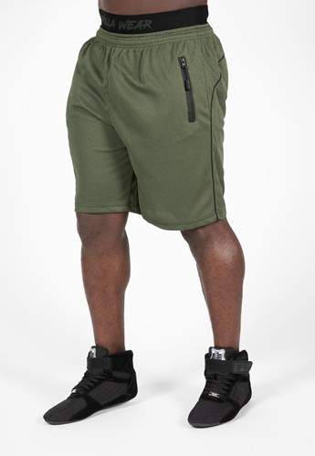 Gorilla Wear Mercury Mesh Shorts - Legergroen/Zwart