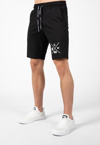 Gorilla Wear Cisco Shorts - Zwart/Wit