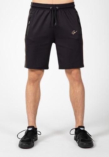 Gorilla Wear Wenden Shorts - Zwart/Goud