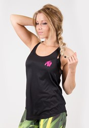 Gorilla Wear Santa Monica Tank Top - Black/Pink - XS