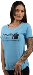 Gorilla Wear Lodi T-Shirt - Light Blue - XS
