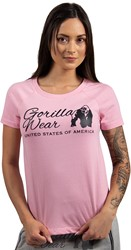 Gorilla Wear Lodi T-shirt - Light Pink - L