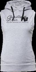 Gorilla Wear Selma Sleeveless Hoodie - Gray - L