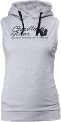 Gorilla Wear Selma Sleeveless Hoodie - Gray - S
