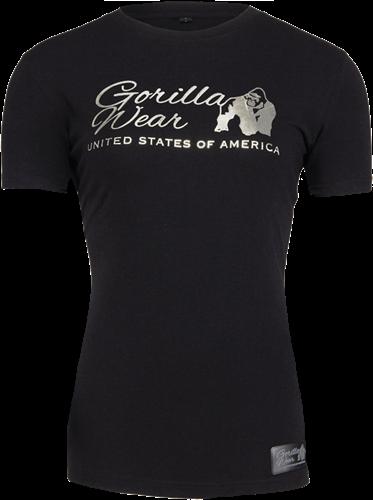 Gorilla Wear Luka T-shirt - Zwart/Zilver