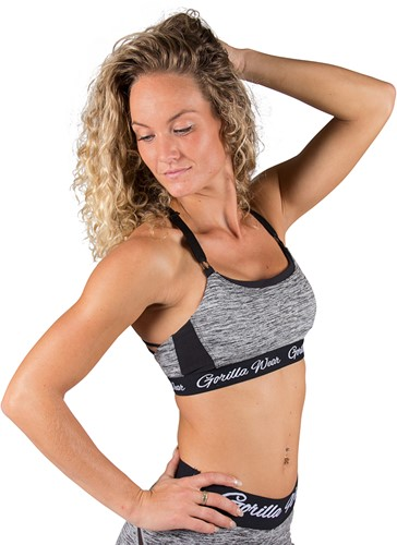 Gorilla Wear Aurora Bra - Mixed Gray-2