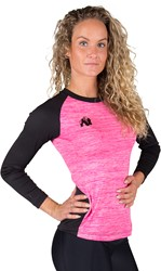 Gorilla Wear Mineola Longsleeve - Pink - XS