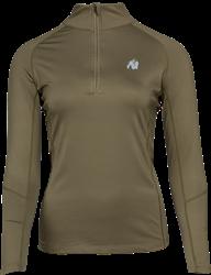 Gorilla Wear Melissa Longsleeve - Army Green - L