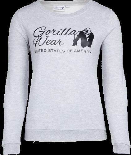 Gorilla Wear Riviera Sweatshirt - Lichtgrijs
