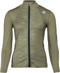Gorilla Wear Savannah Jacket - Green Camo - L