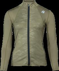 Gorilla Wear Savannah Jacket - Green Camo - XS