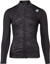 Gorilla Wear Savannah Jacket - Black Camo - L