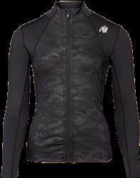 Gorilla Wear Savannah Jacket - Black Camo - XS