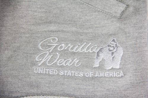 Gorilla Wear Womens New Jersey Sweat Shorts Grey-3