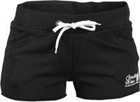 Gorilla Wear Womens New Jersey Sweat Shorts Black