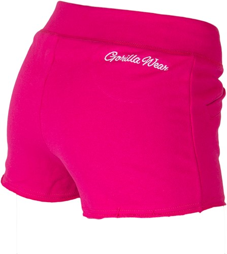 Gorilla Wear Womens New Jersey Sweat Shorts Pink-2
