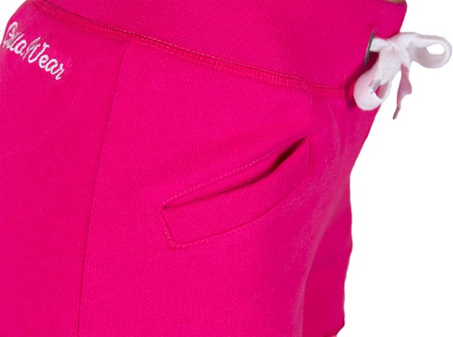 Gorilla Wear Womens New Jersey Sweat Shorts Pink-3