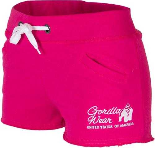 Gorilla Wear Women's New Jersey Sweat Shorts - Roze