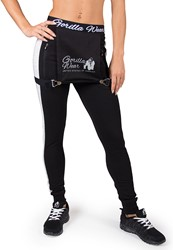 Gorilla Wear Dolores Dungarees - Black/Gray - XS