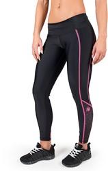 Gorilla Wear Carlin Compression Tight - Black/Pink - L