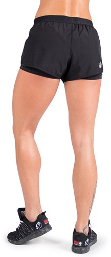 Gorilla Wear Albin Shorts - Black-2
