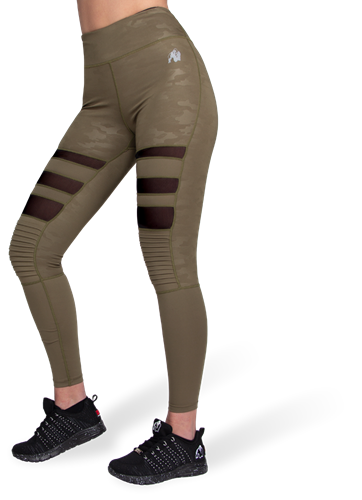 Gorilla Wear Savannah Biker Legging - Legergroen Camo