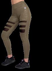 Gorilla Wear Savannah Biker Tights - Green Camo - L