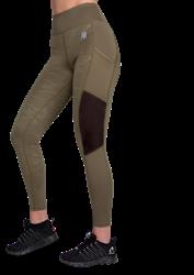 Gorilla Wear Savannah Mesh Tights - Green Camo - S