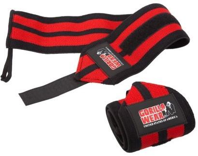 Gorilla Wear Wrist Wraps Pro - Zwart/Rood