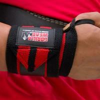 Gorilla Wear Wrist Wraps Pro - Zwart/Rood-2