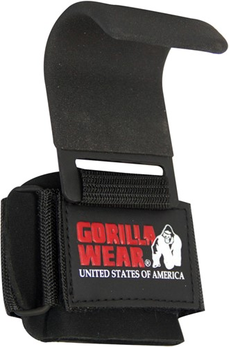 Gorilla Wear Weight Lifting Hooks-3