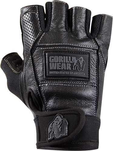Gorilla Wear Hardcore Gloves Zwart