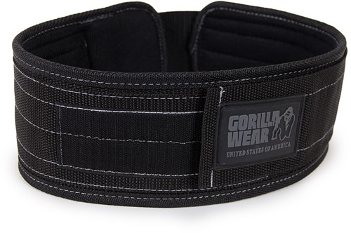 Gorilla Wear 4 Inch Nylon Halterriem