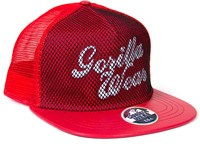 Gorilla Wear Mesh Cap - Red-2