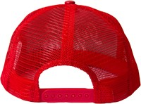 Gorilla Wear laredo mesh cap red back