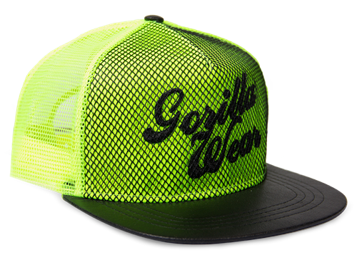 Gorilla Wear Mesh Pet - Neon Groen