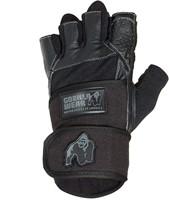 Gorilla Wear Dallas Wrist Wrap Gloves - Black - L ...