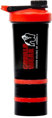 Gorilla Wear Shaker 2 GO - Black/Red