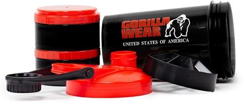 Gorilla Wear Shaker 2 GO - Black/Red-3