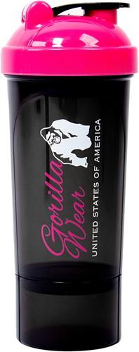 Gorilla Wear Compacte Shaker - Black/Pink