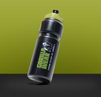 Gorilla Wear Classic Sports Bottle - Black/Army Green 750ML-3