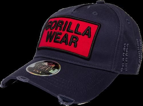 Gorilla Wear Harrison Pet - Marineblauw/Rood