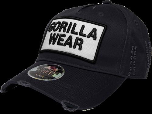 Gorilla Wear Harrison Pet - Zwart/Wit