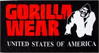Gorilla Wear Functional Gym Towel - handdoek - Zwart/Rood-3