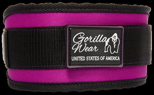 Gorilla Wear Womens Lifting Belt Black/ Purple