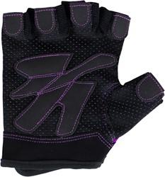 Gorilla Wear Womens Fitness Gloves Black/Purple - L