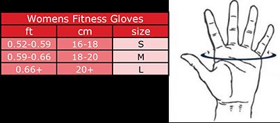 Gorilla Wear Womens Fitness Gloves Black/Purple-3