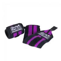Gorilla Wear Womens Wrist Wraps Black/Purple