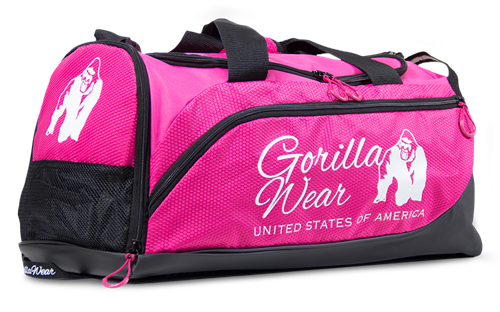 Gorilla Wear Santa Rosa Sporttas - Roze/Zwart