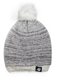 Gorilla Wear Bellevue Beanie - White/Gray